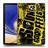 Head Case Designs Offizielle 5 Seconds of Summer Overload Sounds Good Feels Good Ruckseite Hülle für Samsung Galaxy Tab S4 10.5 (2018)