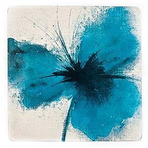 Inspire BCH218810 Luxury Powder Poppy Placemats, 29 x 29cm, Hardboard, Natural, Set of 4