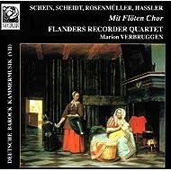 Deutsche Barock Kammermusik VII: Mit Flöten Chor
