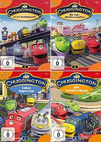 Chuggington Volume 5 + 6 + 7 + 8 Collection (4-DVD)