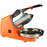 Broyeur à glace Machine à Glace Pilée Electrique en Acier Inoxydable 300W