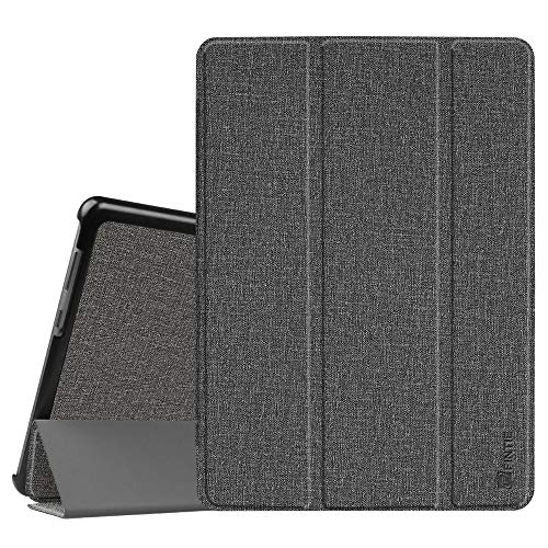 Fintie Huawei Mediapad T3 10 Hülle Case - Ultra Dünn Superleicht Flip Schutzhülle mit Zwei Einstellbarem Standfunktion für Huawei MediaPad T3 (9,6 Zoll) 24,3 cm Tablet-PC, Jeansoptik Grau
