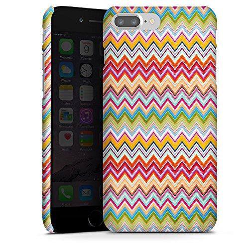 Apple iPhone X Silikon Hülle Case Schutzhülle Azteken Zickzack Bunt Muster Premium Case glänzend