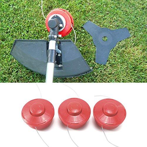 6/unidades /Desbrozadora cabezal doble de hilos Consejo autom/ático para motor de gasolina Sense libre Schneider Bobina de hilo hilos cabeza/