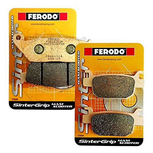 Pastiglie freno sinterizzate anteriori/posteriori Ferodo H onda SH 125/150/300