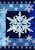 Toland - Cool Snowflakes - Decorative Wi...