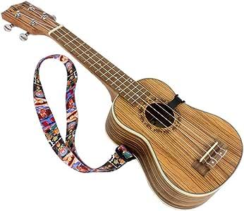 Ukulelengurt Gürtel Hoher Elestic Ukuele String Gitarrengurt verstellbarer