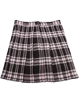 Preppy Style Japanese Schoolgirl Plaid Falda plisada Tartan Faldas cortas