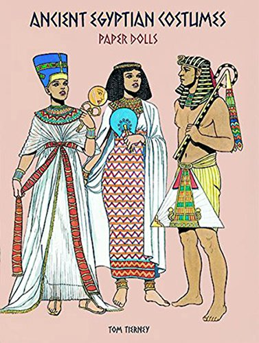 tumes Paper Dolls (History of Costume) (Ancient Egyptian Costumes Paper Dolls)