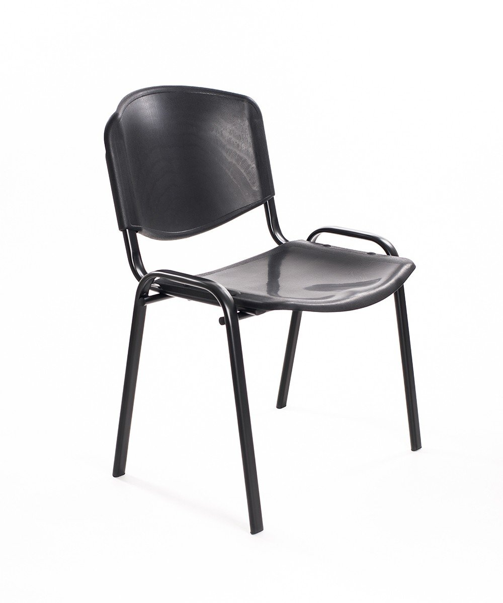 Sedie Impilabili In Plastica.Notek Srl Set Di 6 Sedie Per Sala D Attesa Impilabili In Plastica