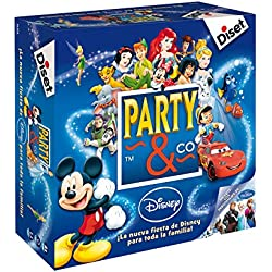 Diset- Disney Juego Party, 27.2 x 26.7 x 8.9 (46504)