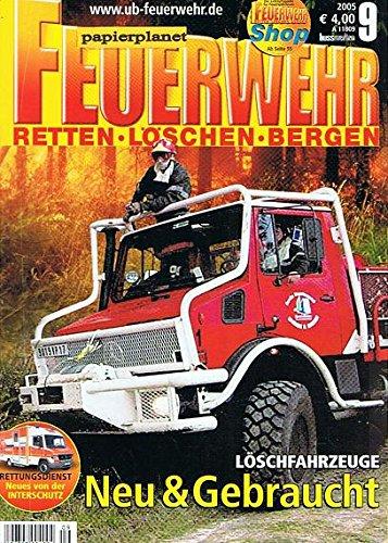 Feuerwehr (Retten Löschen Bergen) 2005 Heft 9 WF Karmann aus Osnabrück . Zeitschrift