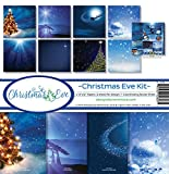 """NEW! Reminisce Collection Kit 12""""""""X12""""""""-Christmas Eve"""