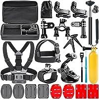 Navitech 18 in 1 Kit d'Accessoires pour Caméras d'Action pour le DMYCO 4K WIFI Ultra HD Waterproof Sports Action Camera 16MP