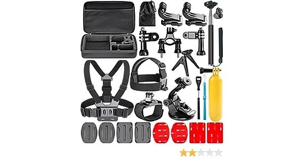 Navitech 18 in 1 Kit dAccessoires pour Cam/éras dAction pour le AEE Lyfe Titan Action Camera
