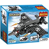 COGO Creator 3 In 1 Building Blocks Army Toys Brick Toys Set War Air Plane Toys For Boys Educational Toys Gifts For Kids 177 Pcs 3009