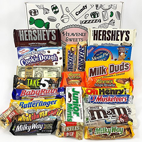 Gran Cesta Chocolate Americano | Surtido de 22 artículos incluido Hersheys...
