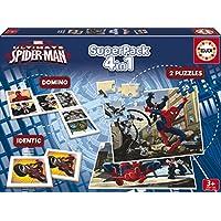 Juegos educativos Educa - Ultimate Spiderman superpack de juegos 4 en 1 (15675)