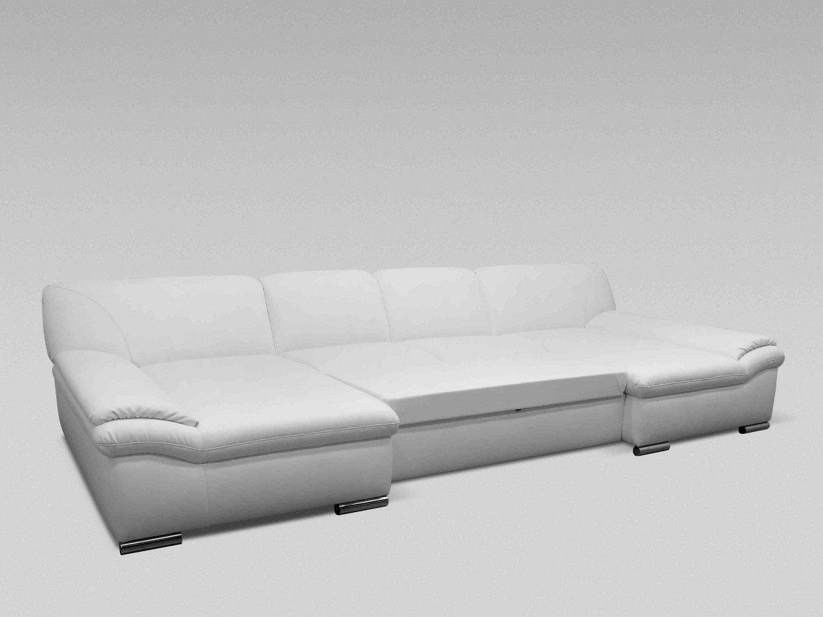 dreams4home polsterecke u-form mike, xxl big sofa ecksofa couch ... - Big Sofa Oder Wohnlandschaft