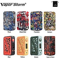 Cigarette électronique Vapor Storm Subverter 200W TC MOD Big Power Box eCig No e Liquid, No Nicotine (Punk)