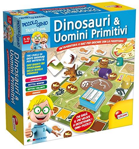Lisciani Giochi 48922 Piccolo Genio Talent School Dinosauri e Primitivi