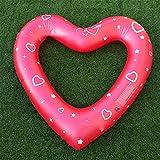 YOUYONGSR Hot Sale 120cm Schweiß Herzen Schwimmen Ring aufblasbare Matratze Pool schwimmen Wasser Kreis für Erwachsene Party Spaß Spielzeug Burgund