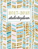 Studentenkalender: Wochenplaner für Studenten: Trendy Gold, Rose & Türkis (Geschenkidee: Planer und Kalender fürs Studium)