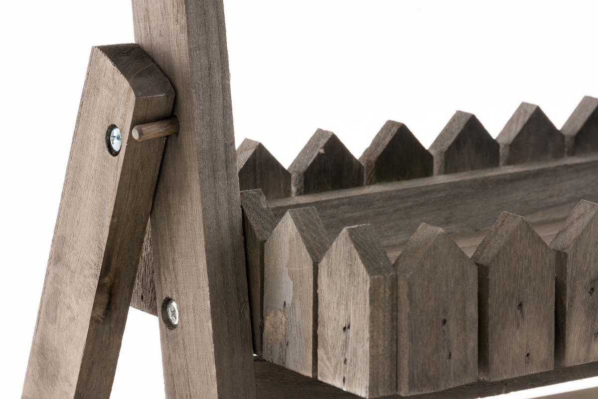 Scaletta In Legno Pieghevole : Clp scaffale a scaletta in legno stile shabby richiudibile