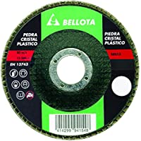 Bellota 50513-40 - Disco de láminas, desbaste piedra-carburo de silicio SIC 40 (base de fibra de vidrio, 115 mm)