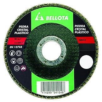 Bellota 50513-80 DISCO LAMINAS BASE FIBRA DE VIDRIO DESBASTE PIEDRA -CARBURO DE SILICIO (SIC80)115MM