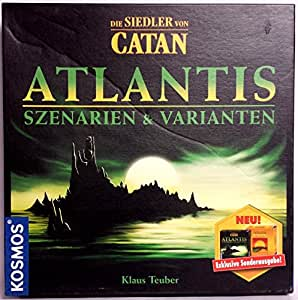 Siedler von Catan Gold und Atlantis Erweiterung