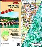 Heidelberg: Umgebungskarte mit Satellitenbild 1:250.000 (TK250 / Topographische und Satellitenbildkarte) - BKG-Bundesamt für Kartographie und Geodäsie