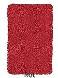 Kleine Wolke 4035439657 Badteppich Trend, 80 x 140 cm, rot