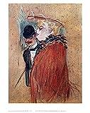 Henri de Toulouse-Lautrec Poster Kunstdruck Bild Couple