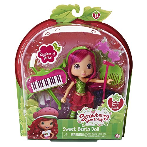 Emily Erdbeer - Sweet Beats Puppe, Raspberry Torte / Hanni Himbeere ca.15 cm - The Bridge Direct ()