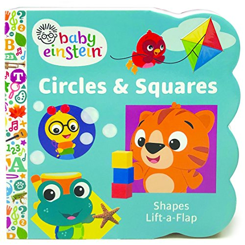Baby Einstein Circles and Squares: Chunky Lift a Flap Board Book por Scarlett Wing