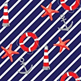Berlintapete - Wallpaper On Demand - Designtapete - Trends - Geometrisch - Maritimes Vektor Ornament Nr. 13038