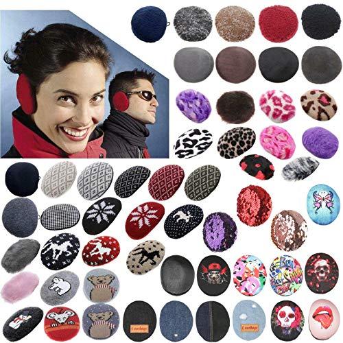 Earbags Leder Ohrenschützer Ohrenklappen