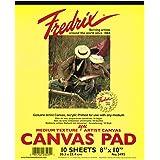 (23 سم × 30 سم) - Fredrix 3500 لوحة قماشية، 23 سم في 30 سم