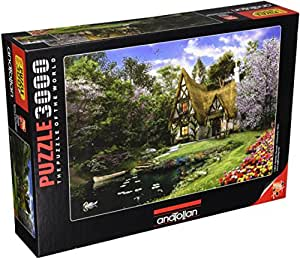 Anatolian/perre Group - Ana.4900 - Puzzle Classique - Spring Lake Cottage - 3000 Pièces
