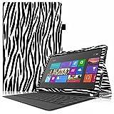 Fintie Microsoft Surface RT / Surface 2 hülle Case Tasche Schutzhülle Etui - Hochwertige Kunstleder Slim Fit Stand Cover mit Stylus-Halterung für Microsoft Surface RT / Surface 2 10.6