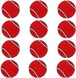 V4L Cricket Tennis Ball Light Weight, Made of Rubber for Cricket Training, Tennis Training, Cricket Rubber Heavy Weight…