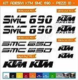 Aufkleber stickers KTM SMC 690 -Motorrad- Cod. 0625 (Nero cod. 070)