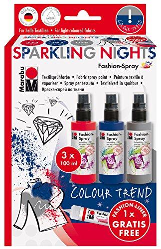 marabu-171900083-fashion-spray-sortierung-sparkling-nights-3-x-100-ml-mehrfarbig