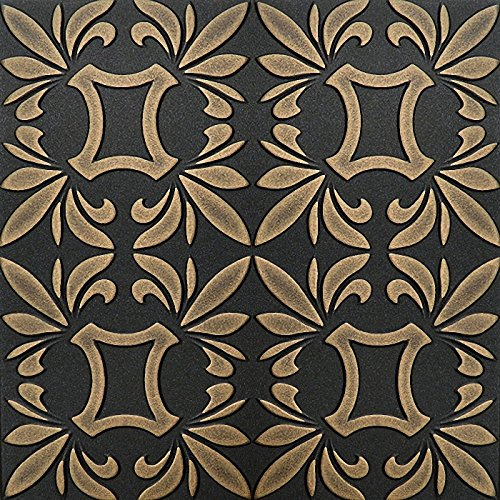 dipinto-a-mano-in-polistirene-espanso-soffitto-piastrelle-retro-112-in-oro-colore-nero-500-x-500-mm