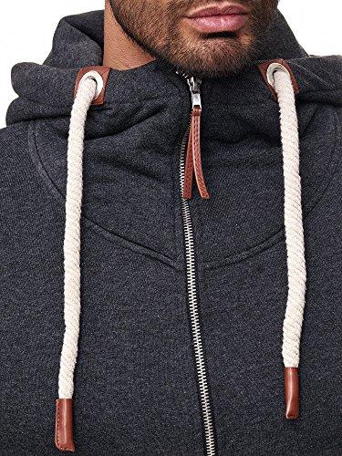 Redbridge -  Felpa con cappuccio  - Uomo Grigio scuro