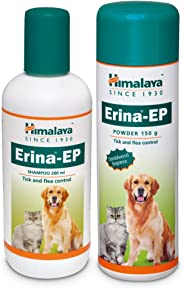 Himalaya Erina-EP Shampoo, 200ml and Powder 150g