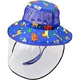 YTFU - Sombrero protector de rostro transparente antisaliva ...