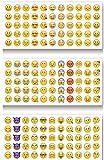Unbekannt Emoji Sticker Whats App Tagebuch Sticker 12 Blatt 660 Stück
