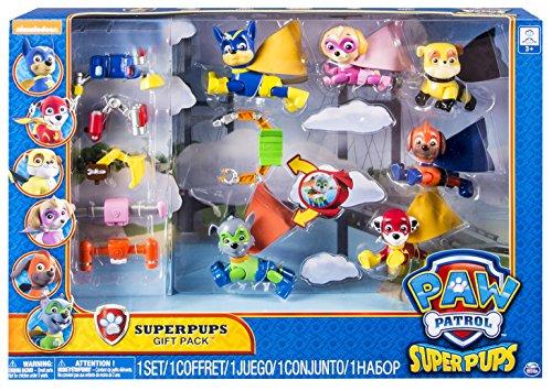 Patrulla Canina - Multipack de 6 figuras, Super Heroes (Bizak 61926613)